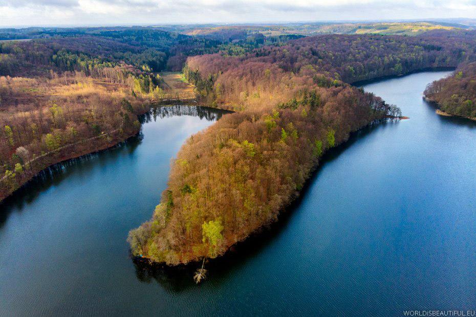 Jezioro w Przywidzu