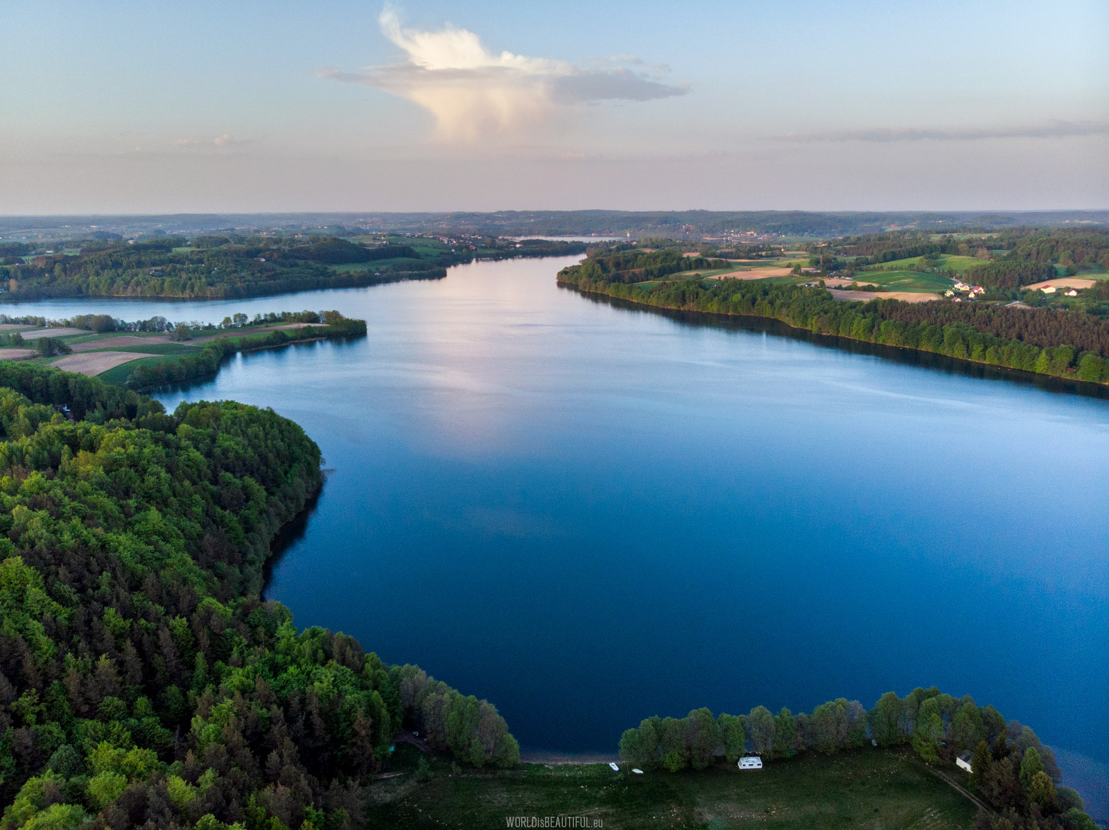 Kashubian lakes