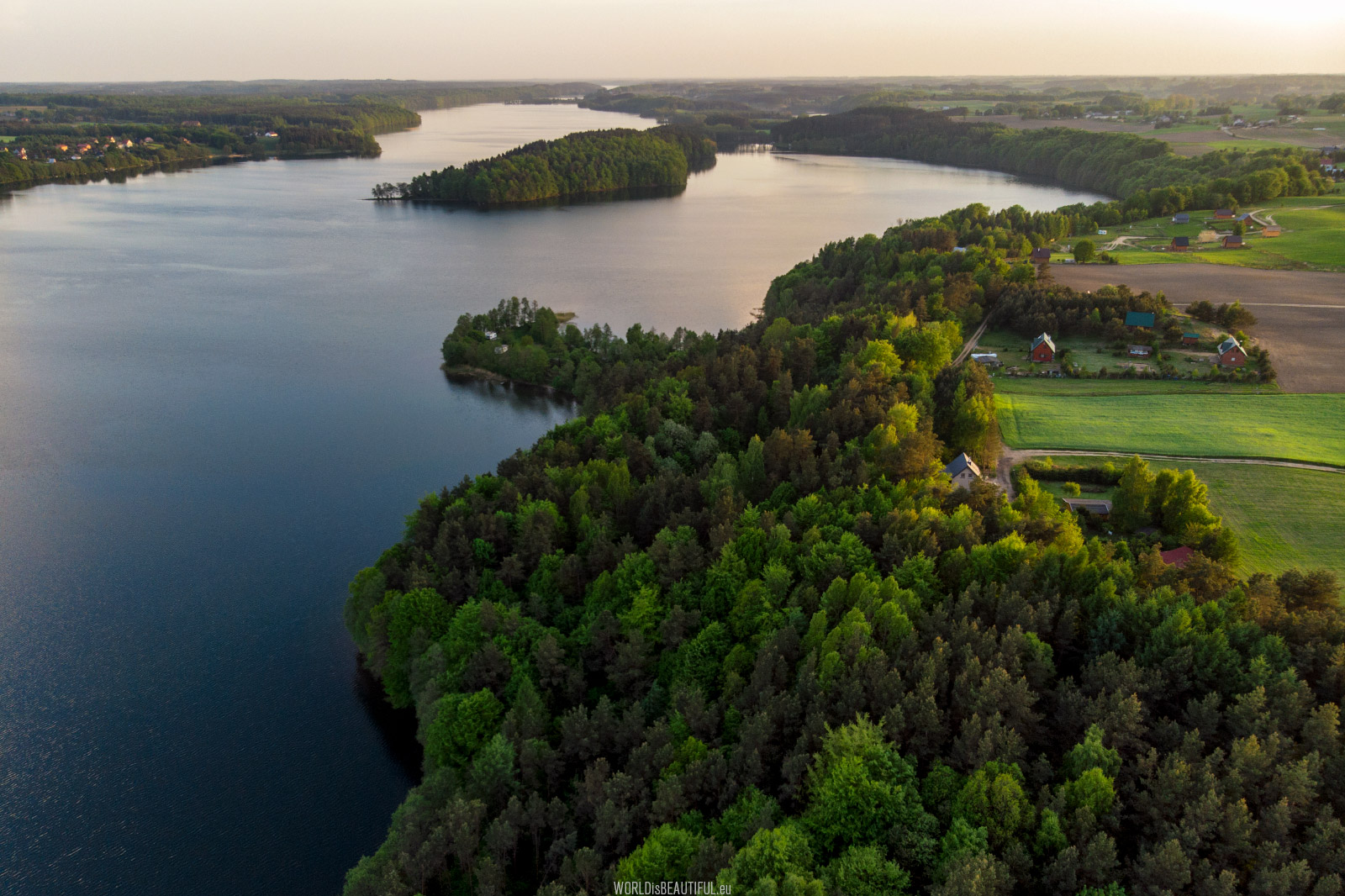 The most beautiful lakes in Poland