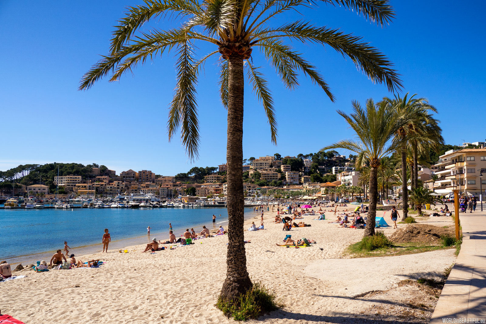 Beach in Port de Soller