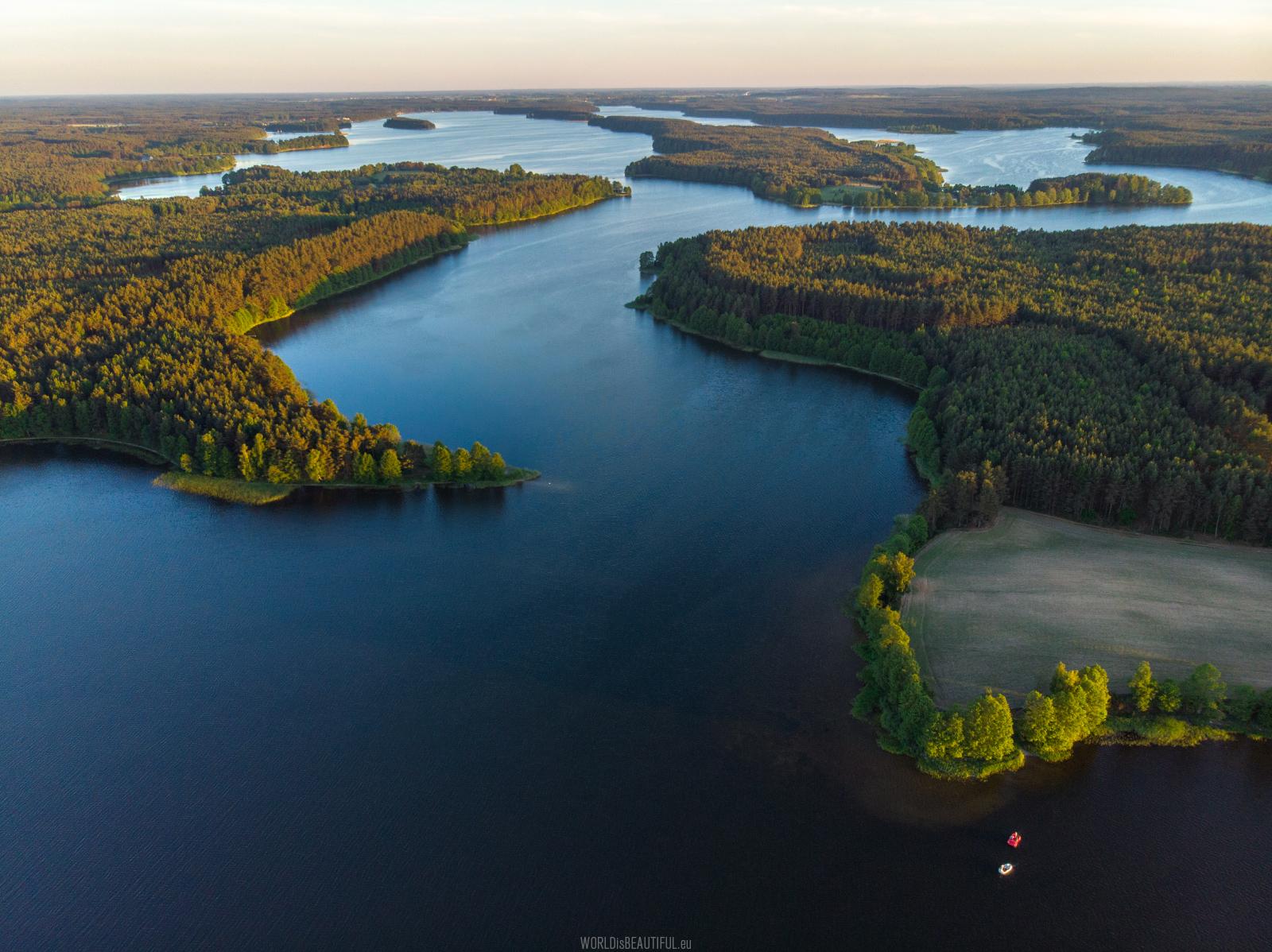 Wdzydze Lake, Poland