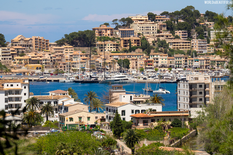 The most beautiful harbor on Mallorca