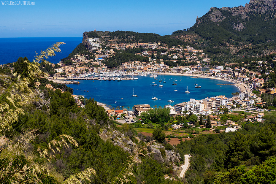 Port de Soller - view from the trail