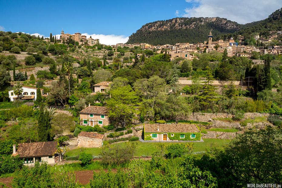 Panorama of Valldemossa