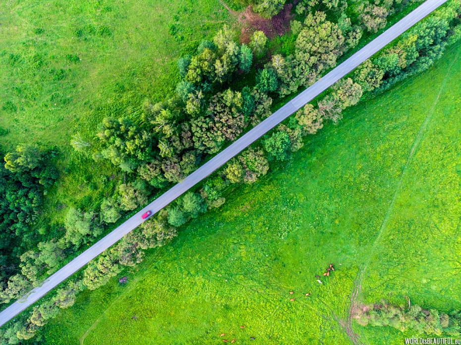 Droga przez Bieszczady