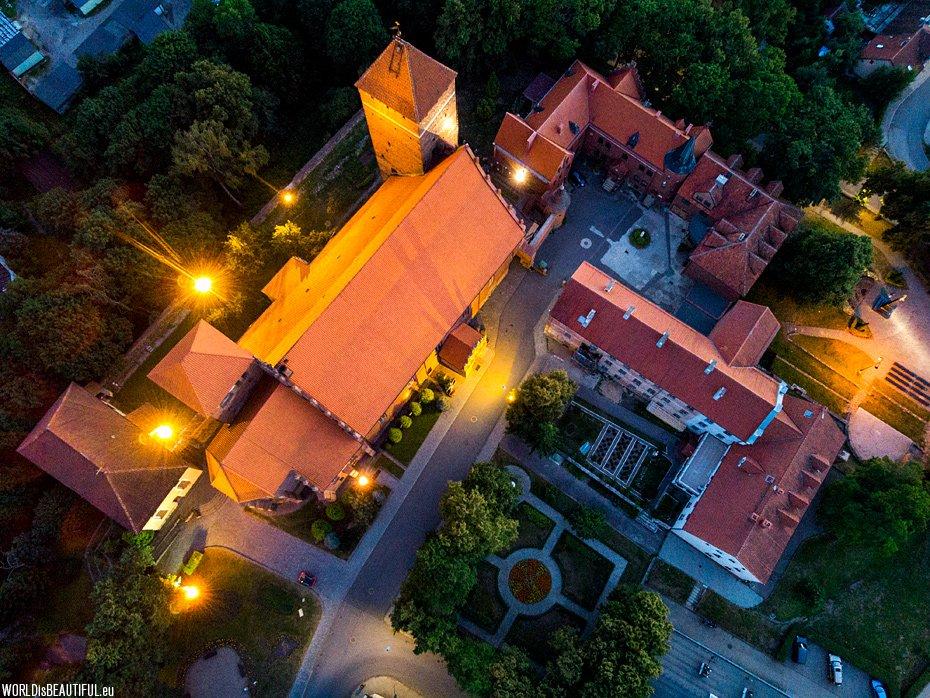 Night photos from Kętrzyn