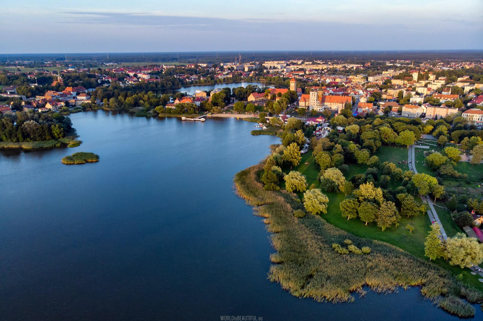 Szczytno, Jezioro Domowe Duże i Małe