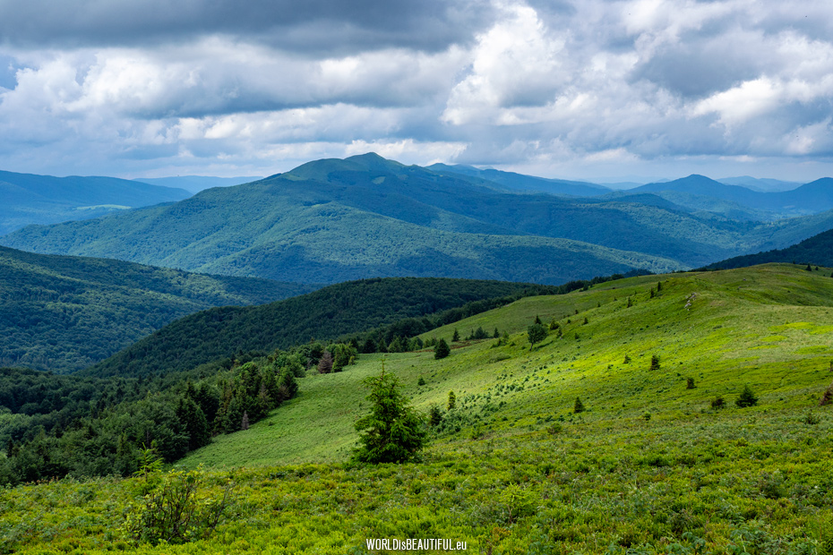 Rest in the Bieszczady Mountains