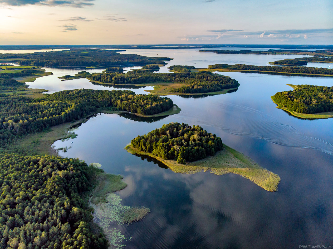 Lake Kisajno, Masuria Poland