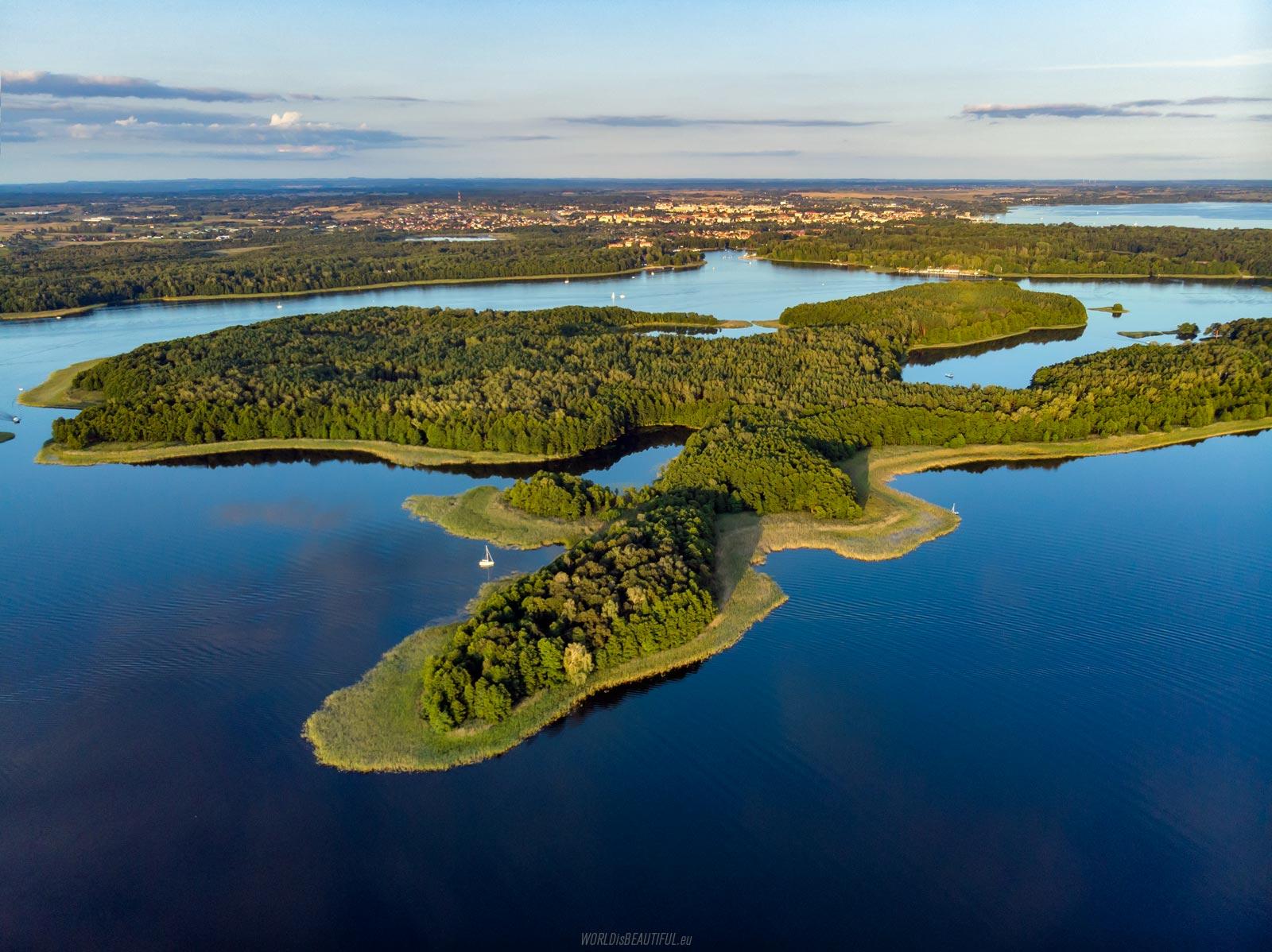 Duży Ostrów i Giżycko